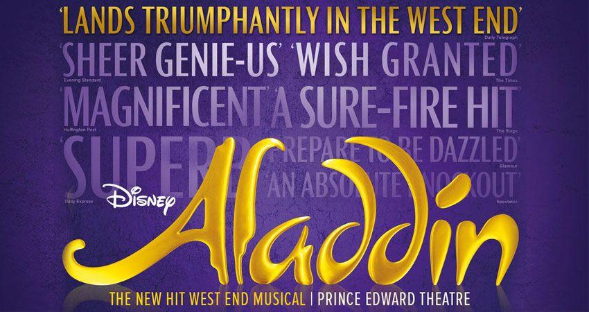 Coach or Minibus London Theatre to See Disney's Aladdin